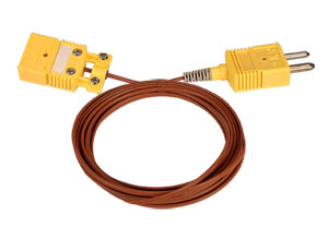 Thermocouple Extension Cables with Molded Connectors : TEC(*), REC(*) and GEC(*) Series