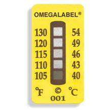 étiquette thermosensible non-réversible