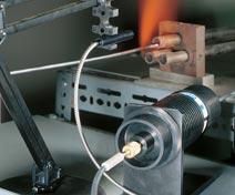 fibre optique pour mesurer la température.